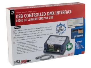 Velleman KV8062 USB ovladač DMX rozhraní Stavebnic