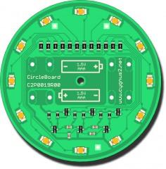 SMD stavebnice C2P0019 rotující světelné kolo