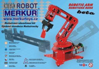 Merkur BETA 6 Robotická ruka stavebnice s řídicím