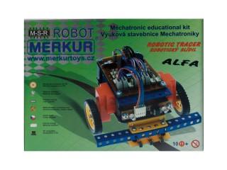 MERKUR Robotický Slídil ALFA RC-ATMEL Stavebnice