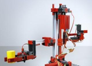 Stavebnice FISCHERTECHNIK 511938, 3-D-Robot TX 24V