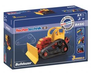 Fotografie Fischer technik 520395 Bulldozer stavebnice