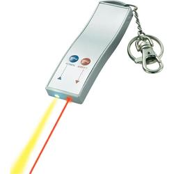 """Laserové ukazovátko """"přívěšek na klíče"""" s LED"""