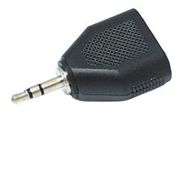 Rozdvojka jack 3,5mm vidl. stereo 2x 3,5mm zásuvka