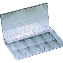 Zásobník na součástky, krabička, 10 přihrádek