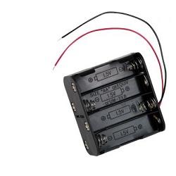 OEM BH383A Držák baterie 8xAA drátové vývody