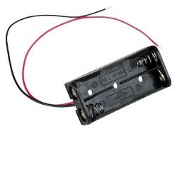 Držák baterie 2xAAA plast BH421-3A s kabelem