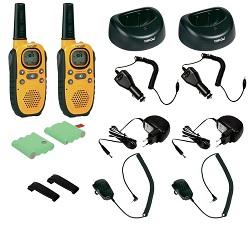 Sada PMR radiostanic Topcom Twintalker 9100 kufr