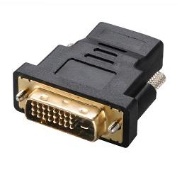 AKASA Redukce DVI na HDMI/ DVI(M) - HDMI (F)/