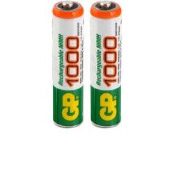 GP akumulátory AAA NiMH 1000mAh 2ks blistr