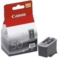Canon PG-50Bk - originální náplň černá