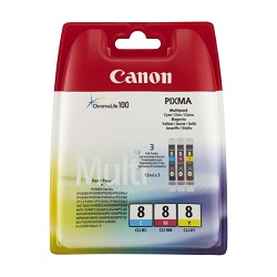 Canon CLI8-C+M+Y multipack náplní