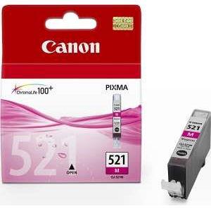 Canon CLI-521M - originální inkoustová purpurová