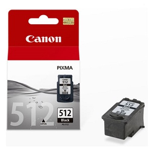 Canon PG-512 originální inkoustová náplň černá