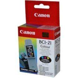 Canon BCI-21C - originální inkoustová náplň
