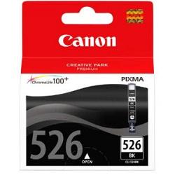 Canon CLI-526Bk - originální náplň Černá