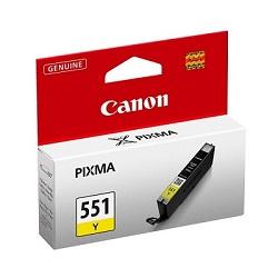 Canon CLI-551Y - originální inkoustová náplň žlutá