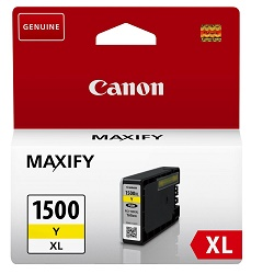 Canon PGI-1500XL originální žlutá inkoustová