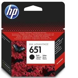 HP C2P10A - originální HP 651 černá