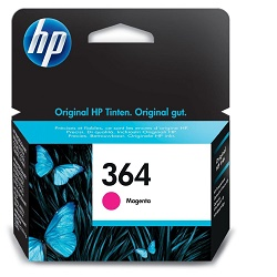 HP 364 CB319EE origináliní náplň purpurová