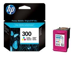 HP CC643EE - originální HP 300 ink. náplň barevná