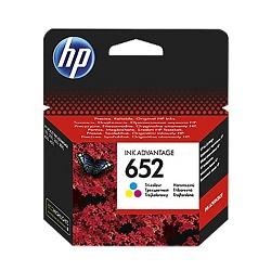 HP F6V24AE - originální ink. HP 652 barevná