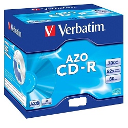 Verbatim 700MB DLP 1ks CD médium 43326