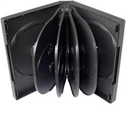 Box na 10ks DVD medií černý