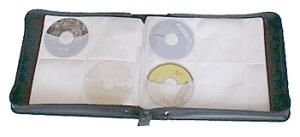 Taska na 200ks CD-R medii textil