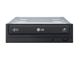 LG GH24NS DVD±R/±RW/RAM, 24x SATA, M-disc/ černá