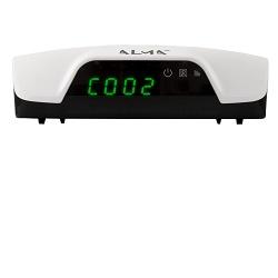 ALMA 2761 THD DVB-T/T2 HD přijímač displejem bílý