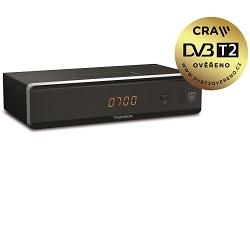 Thomson THT 712 Set-top-box HDMI LAN SCART černý