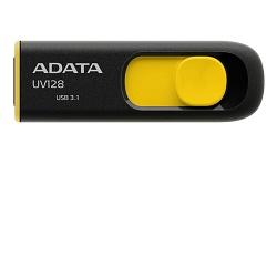 ADATA UV128 32GB černo-žlutý Flashdisk USB 3.1