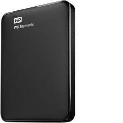 WD Elements Portable 750 GB černý USB Pevný disk