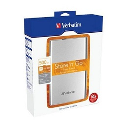 "VERBATIM HDD 2.5"" 500GB USB 3.0, 8MB, 53021"