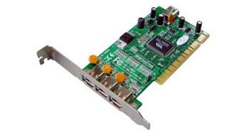 Kouwell KW-1582V PCI FireWire řadič 3+1 1394a