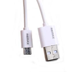 Remax datový kabel USB 2.0 - micro USB 1m bílý