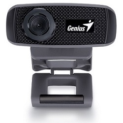 GENIUS FaceCam 1000X HD 720P USB2.0 UVC mikrofon