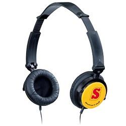 Skládací sluchátka GENIUS GHP-410F 1.2 m oranžová