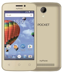 "myPhone Pocket zlatý 4"" IPS/800x480/4GB/500MB RAM"
