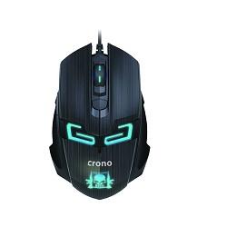 Crono CM647 myš optická herní drátová černá