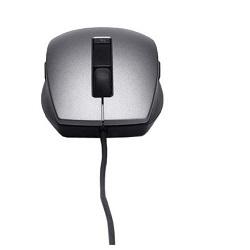 DELL myš laserová 6-tlačítková USB drát. stříbrná