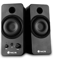 NGS GSX-200 reproduktory 2.0 Černé 20W