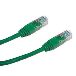 Datacom 1564 UTP, cat.5e, RJ45, 10m, zelený