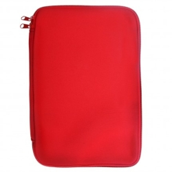 "Pouzdro TABLET neopren 7""- 8,9"" red (22x14cm), zip"
