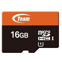 TEAM 16GB Micro SDHC Xtreem UHS-1 + SD adaptér