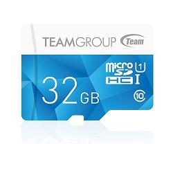 TEAM 32GB-HC Micro SDHC UHS-1 modrá Paměťová karta