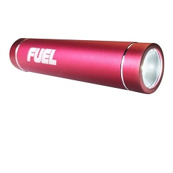 Patriot FUEL Power bank 2000 mAh Červená + LED