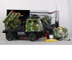 RC model auta vojenské 1:14 27Mhz
