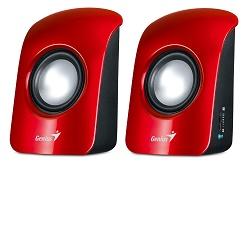 GENIUS repro SP-U115 přenosné USB napájení červené